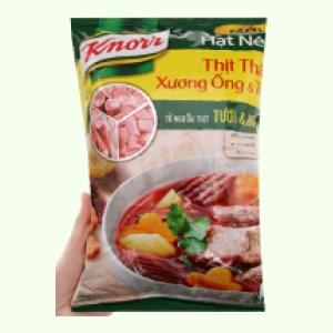 Hạt nêm thịt thăn, xương ống, tủy Knorr gói 900g