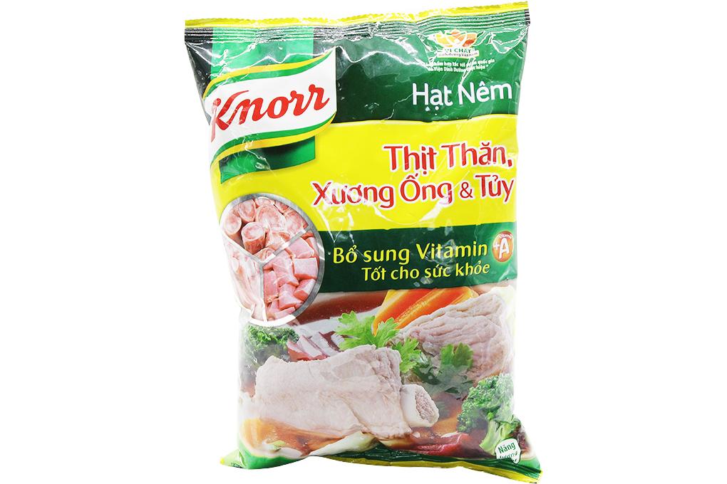 Hạt nêm Knorr Thịt thăn, xương ống và tủy gói 900g