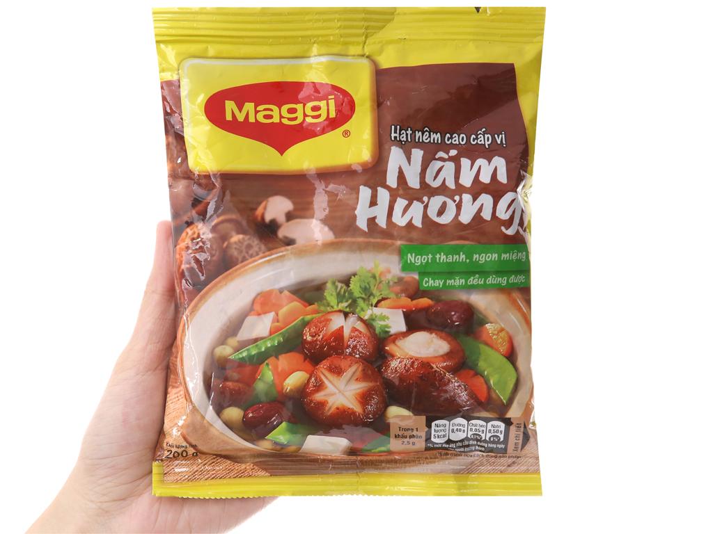Hạt nêm nấm hương Maggi gói 200g 3