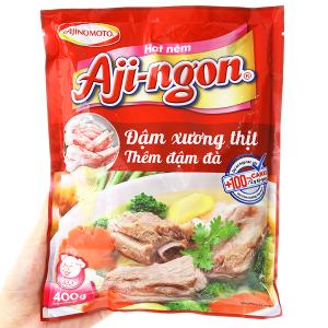 Hạt nêm Xương, thịt heo Aji-ngon gói 400g