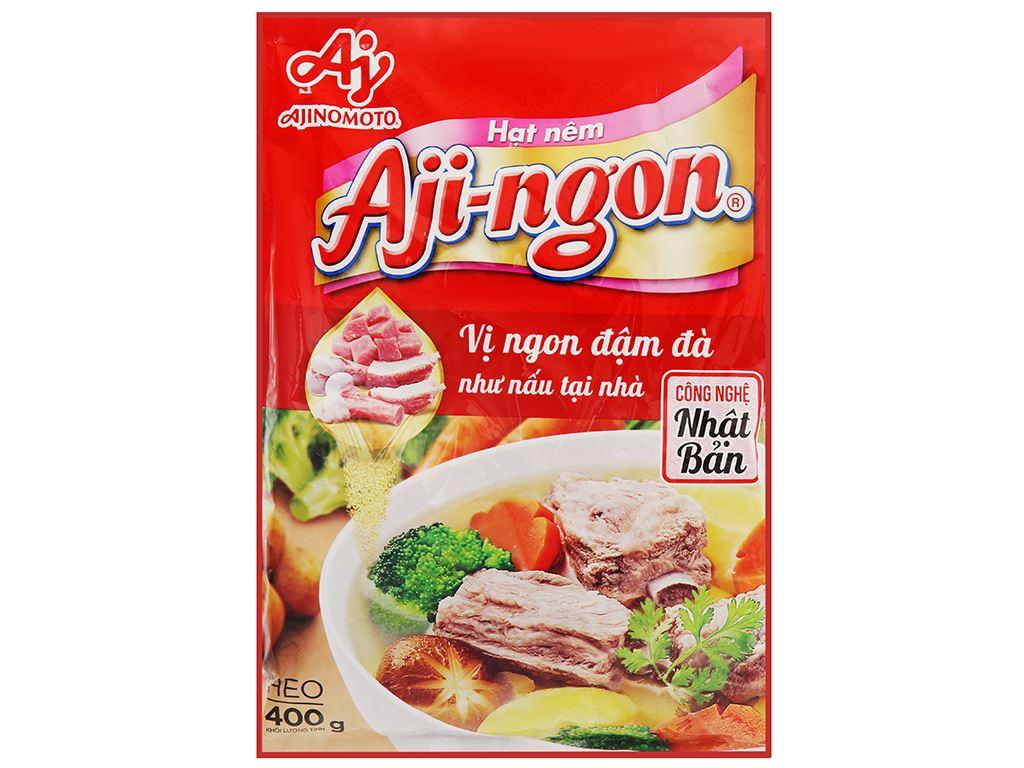 Hạt nêm xương, thịt heo Aji-ngon gói 400g 1