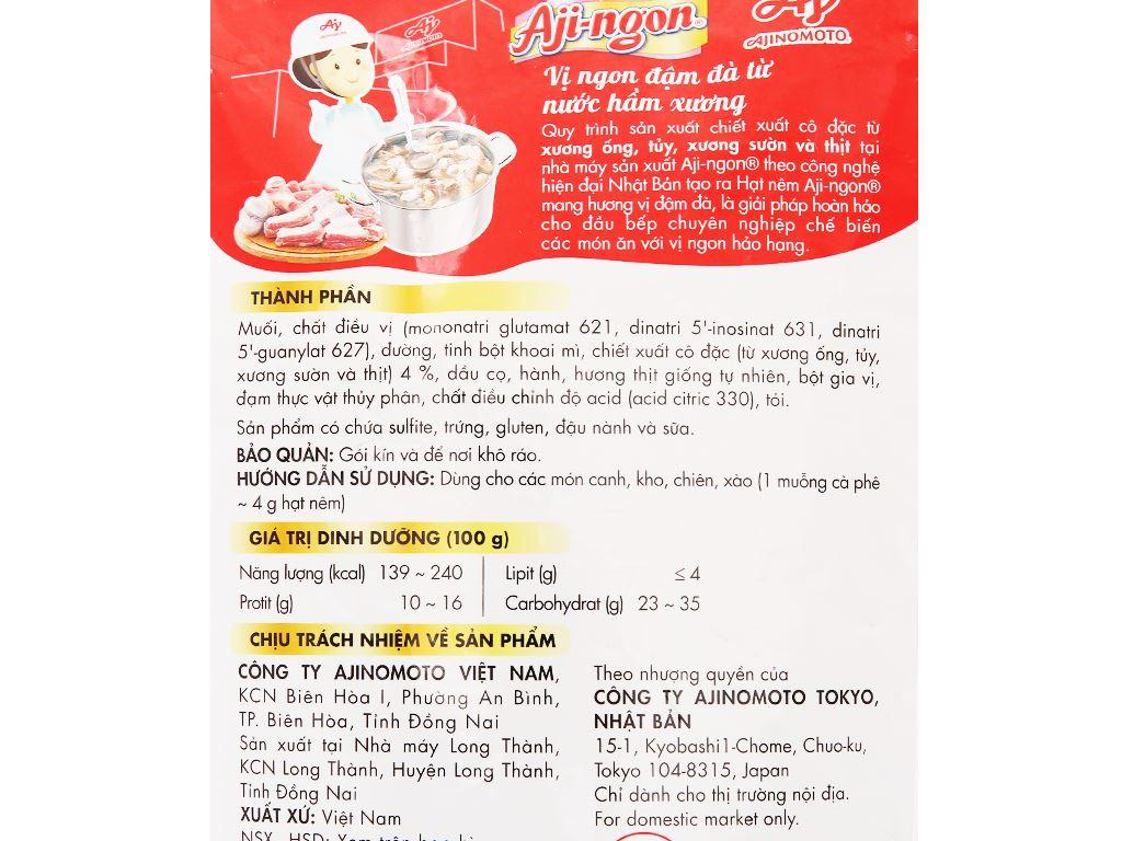 Hạt nêm vị heo Aji-ngon gói 2kg 3