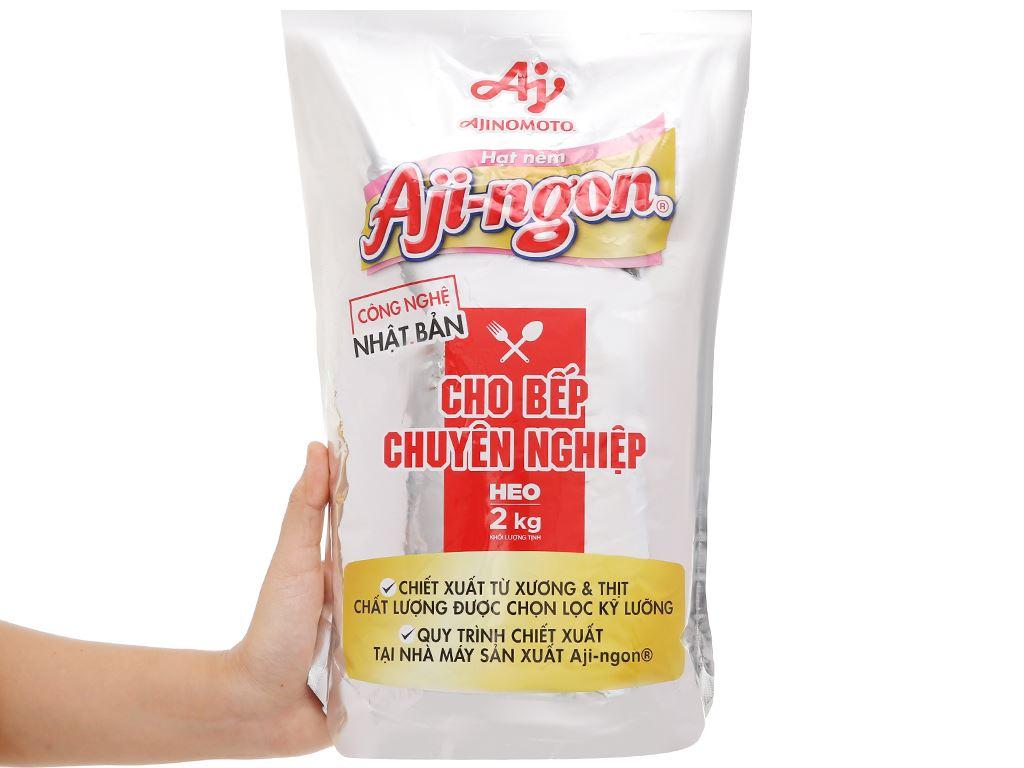 Hạt nêm vị heo Aji-ngon gói 2kg 4