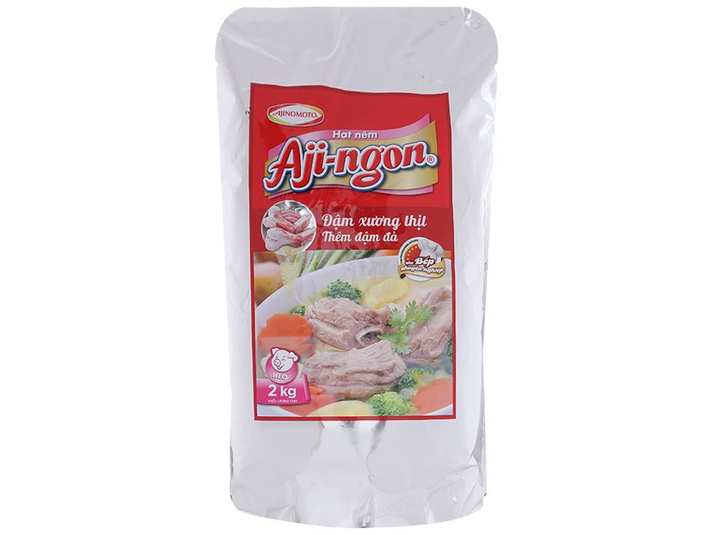 Hạt nêm xương, thịt heo Aji-ngon gói 2kg 2