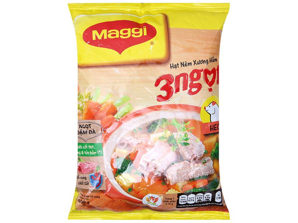 Hạt nêm vị heo Maggi gói 900g 1