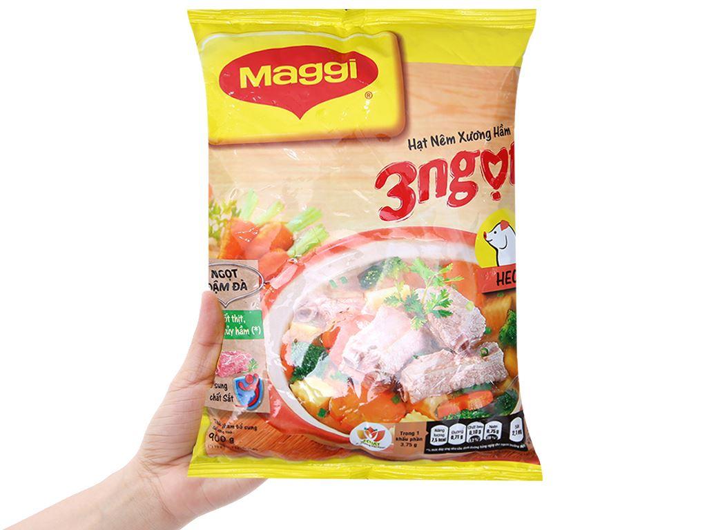 Hạt nêm vị heo Maggi gói 900g 3