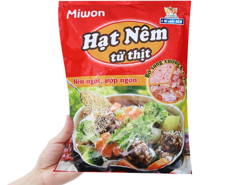 Hạt nêm thịt, xương, tủy Miwon gói 900g 3
