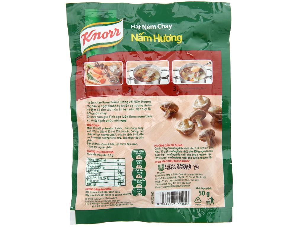 Hạt nêm Nấm hương Knorr gói 50g 2
