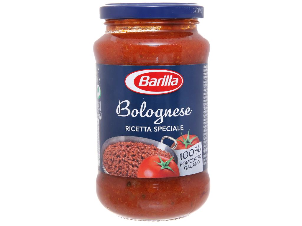 Sốt cà chua thịt bò bằm Barilla hũ 400g 1