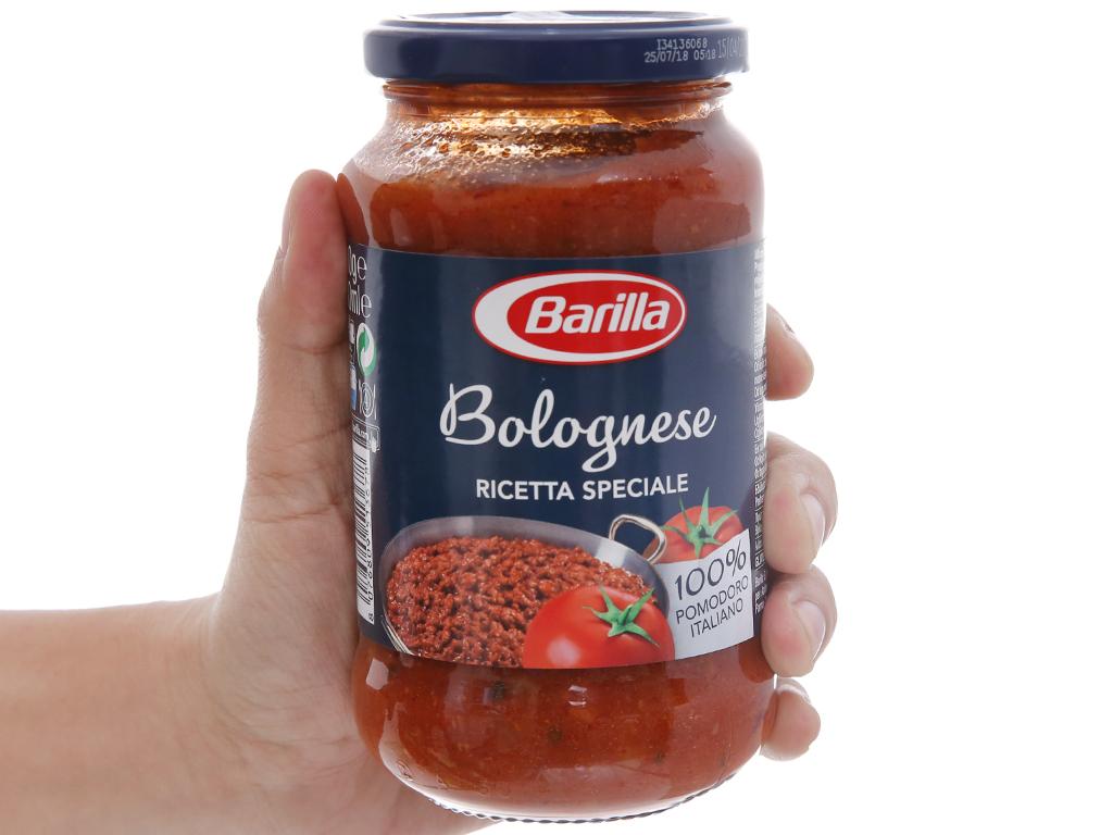 Sốt cà chua thịt bò bằm Barilla hũ 400g 3