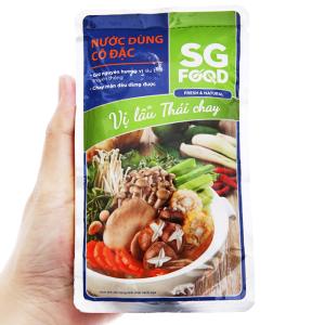 Nước dùng cô đặc lẩu Thái chay SG Food gói 150g