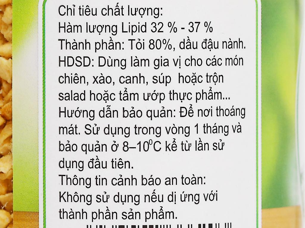 Tỏi phi Minh Hà hũ 100g 3