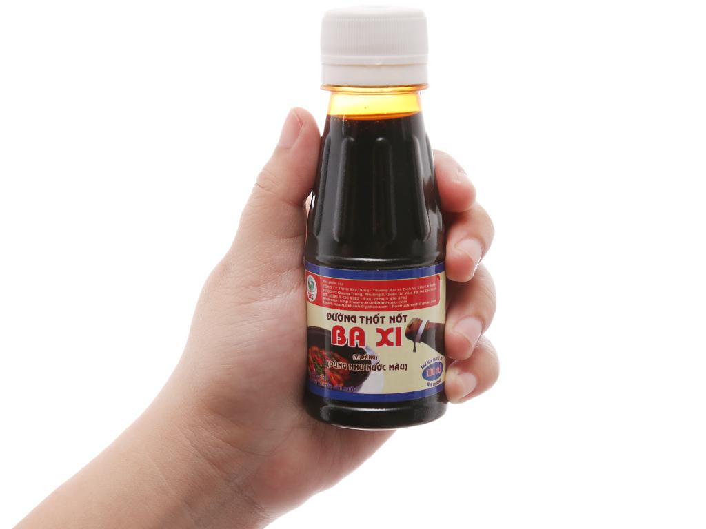Nước màu đường thốt nốt Ba Xi chai 100ml 3