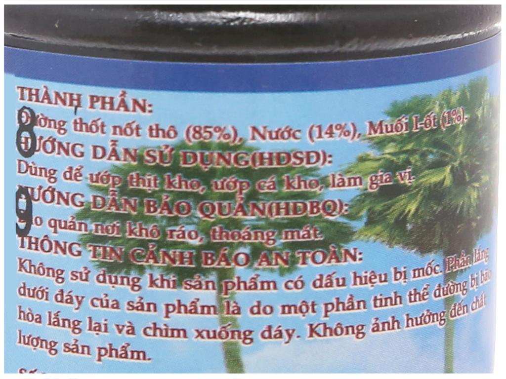 Nước màu đường thốt nốt Ba Xi chai 100ml 5