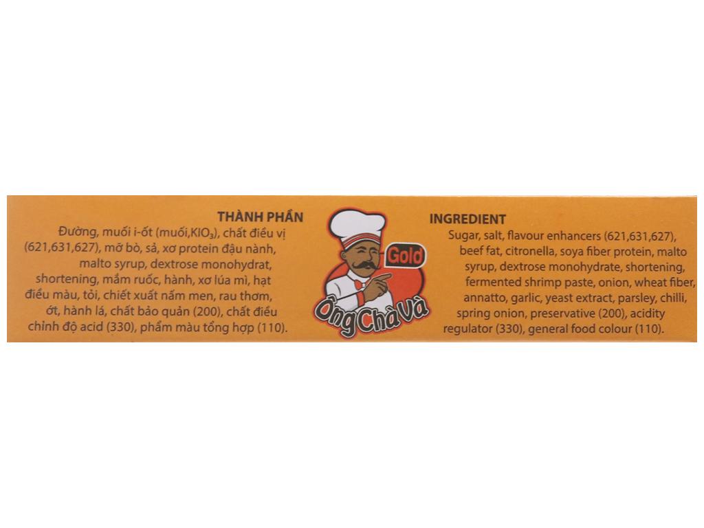 Viên gia vị nấu bún bò Huế Ông Chà Và Gold hộp 96g (6 viên) 5