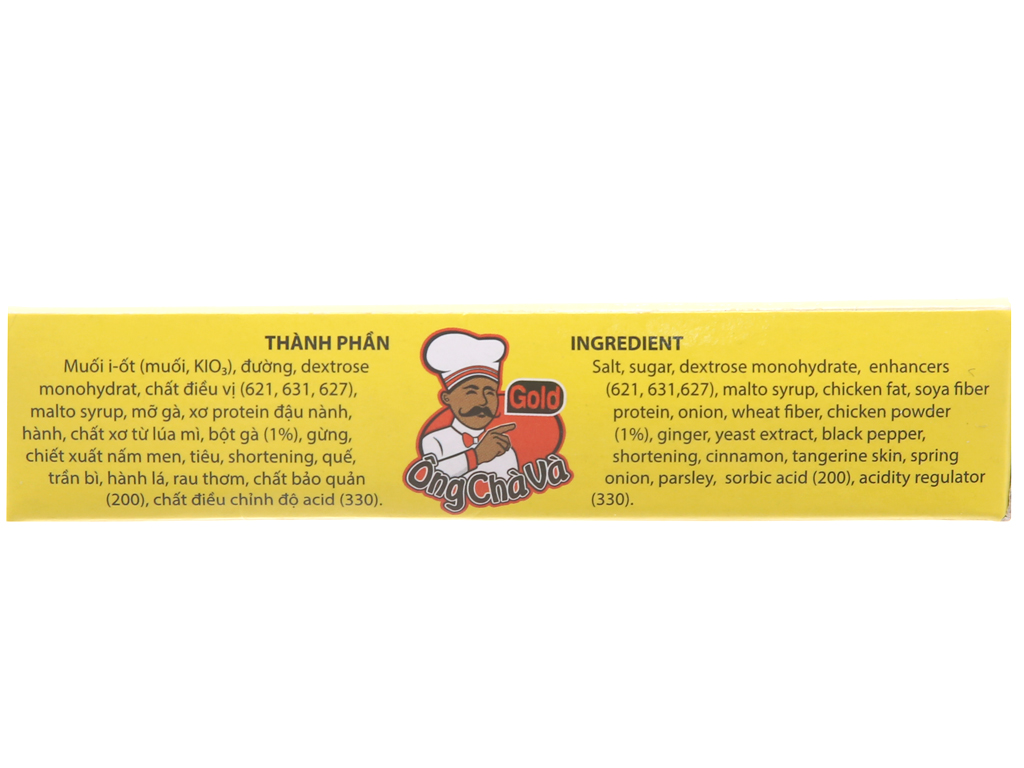 Viên gia vị nấu phở gà Ông Chà Và Gold hộp 96g (6 viên) 5