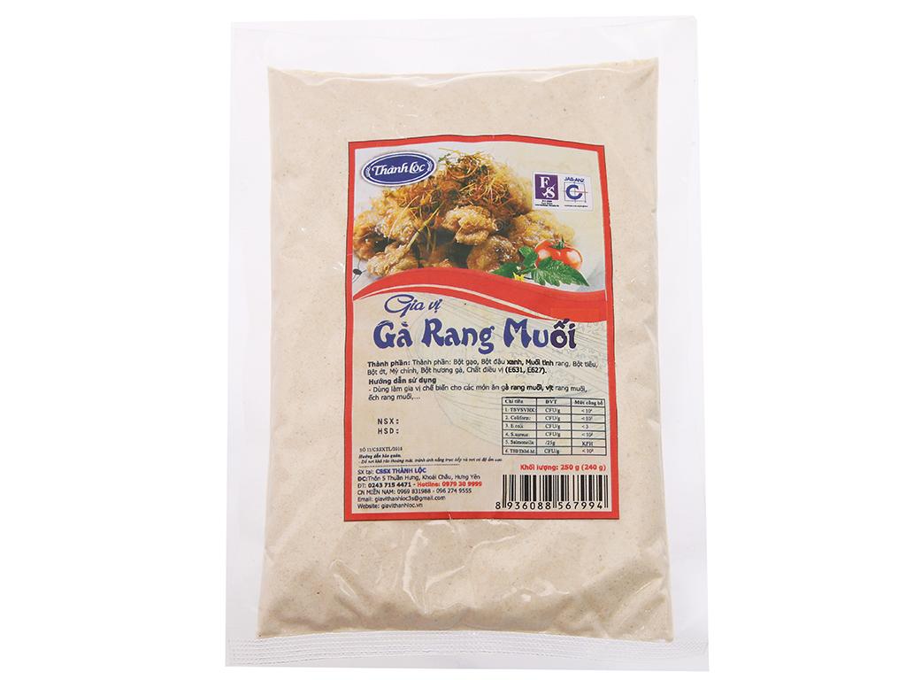 Gia vị gà rang muối Thành Lộc gói 250g 1