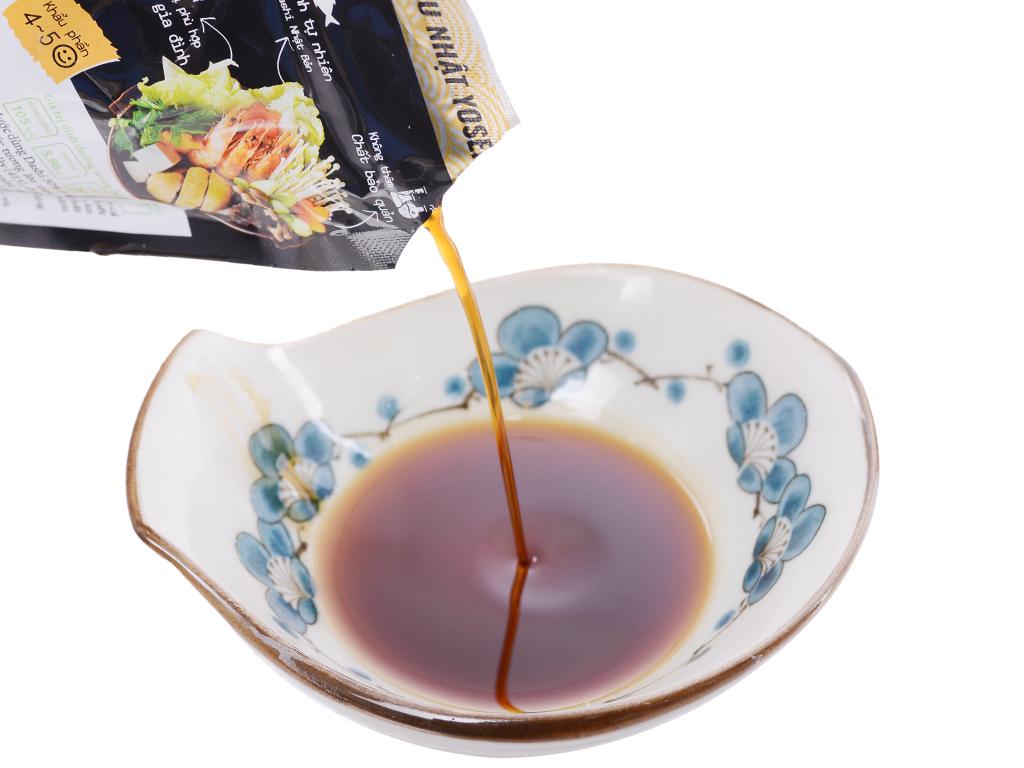 Nước dùng hoàn chỉnh lẩu Nhật Yosenabe Barona gói 160g 4