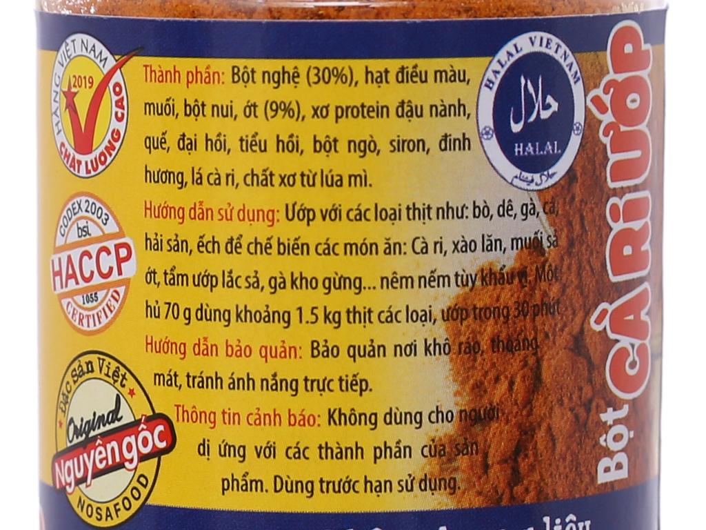 Bột cà ri ướp Ông Chà Và hũ 70g 5