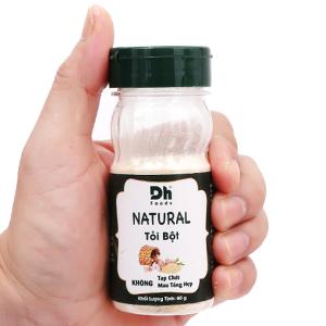 Tỏi bột DH Foods Natural hũ 60g