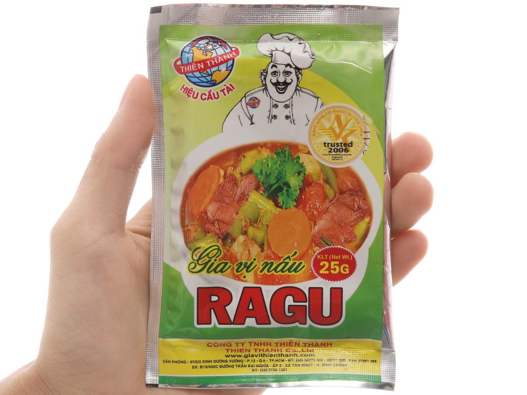 Gia vị nấu Ragu Thiên Thành gói 25g 3