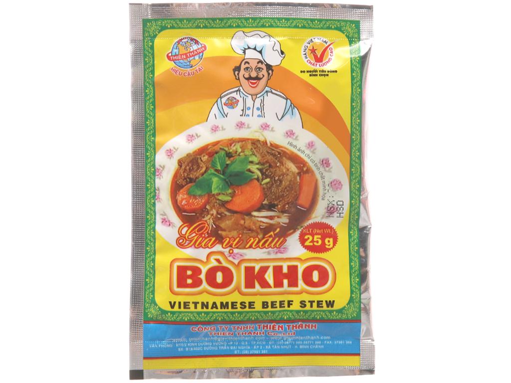 Gia vị nấu bò kho Thiên Thành gói 25g 1