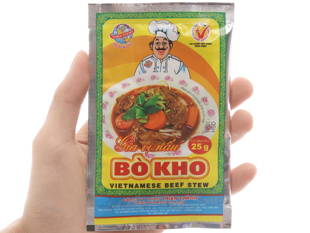 Gia vị nấu bò kho Thiên Thành gói 25g 3