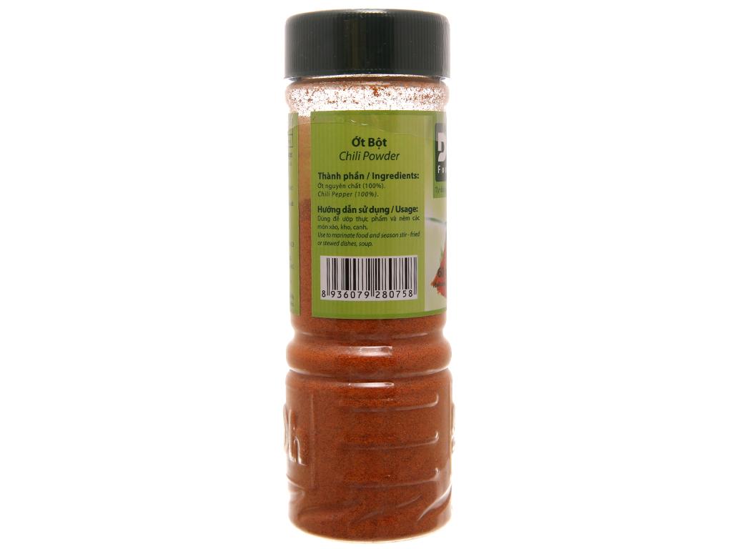 Ớt bột DH Foods hũ 60g 2