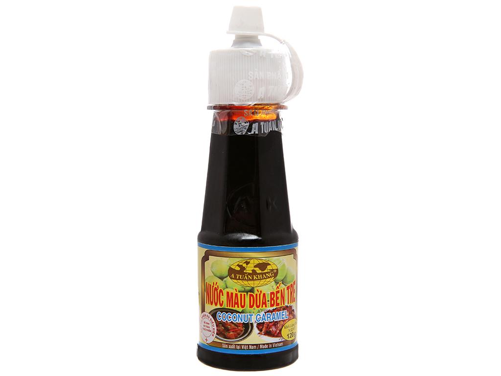 Nước màu dừa A Tuấn Khang Bến Tre chai 120g 1