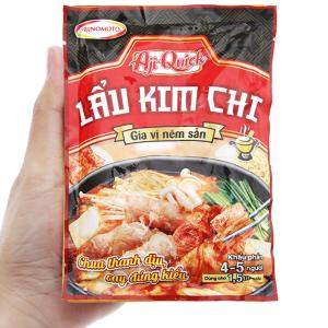 Gia vị nêm sẵn nấu lẩu kim chi Aji-Quick gói 46g