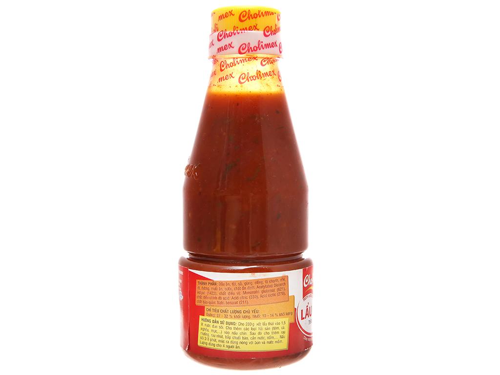 Sốt lẩu Thái Cholimex chai 280g 2