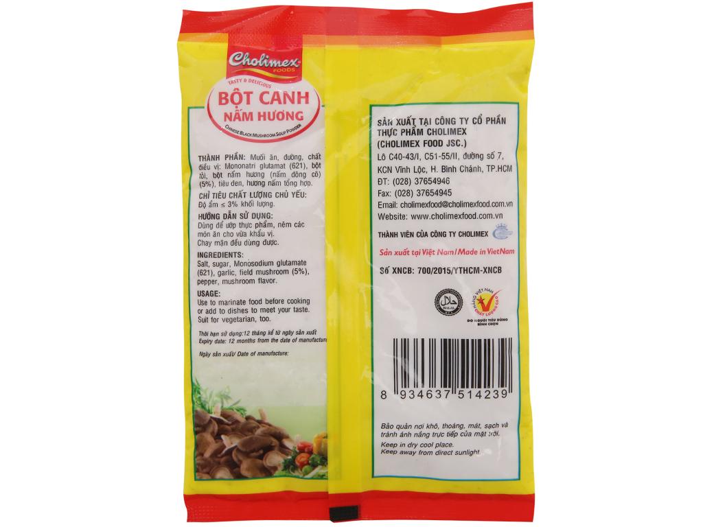 Bột canh nấm hương Cholimex gói 180g 2