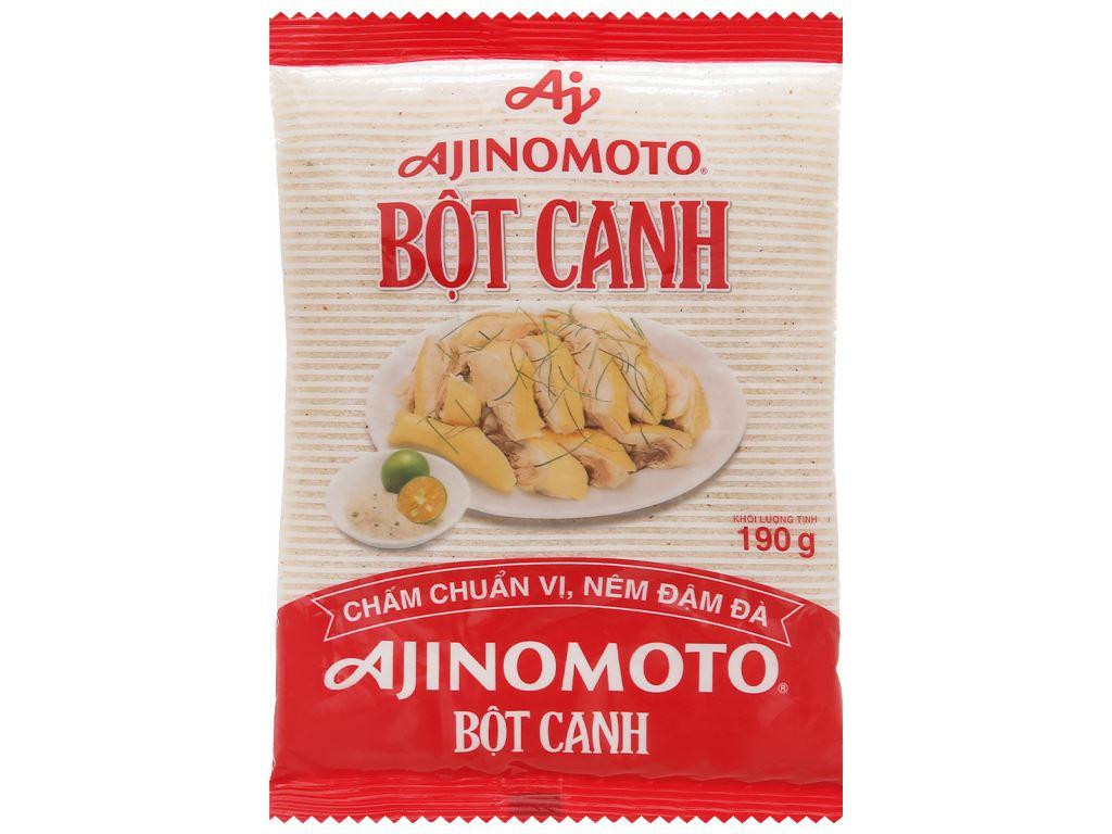 Bột canh Ajinomoto gói 190g 1