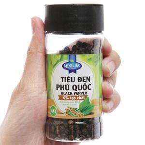 Tiêu đen nguyên hạt Phú Quốc Minh Hà hũ 50g