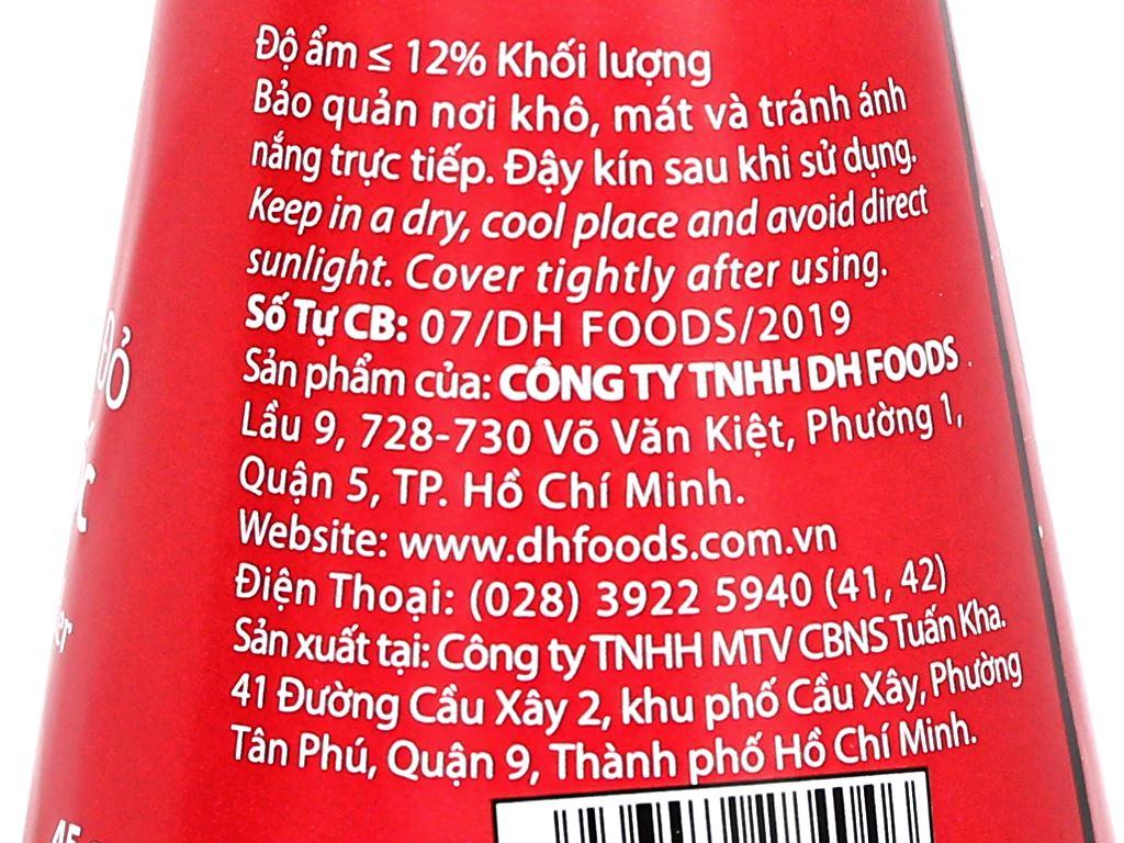 Tiêu chín đỏ Phú Quốc DH Foods Natural có nắp xay 45g 3
