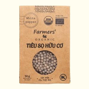 Tiêu sọ hữu cơ Farmers Organic túi 50g