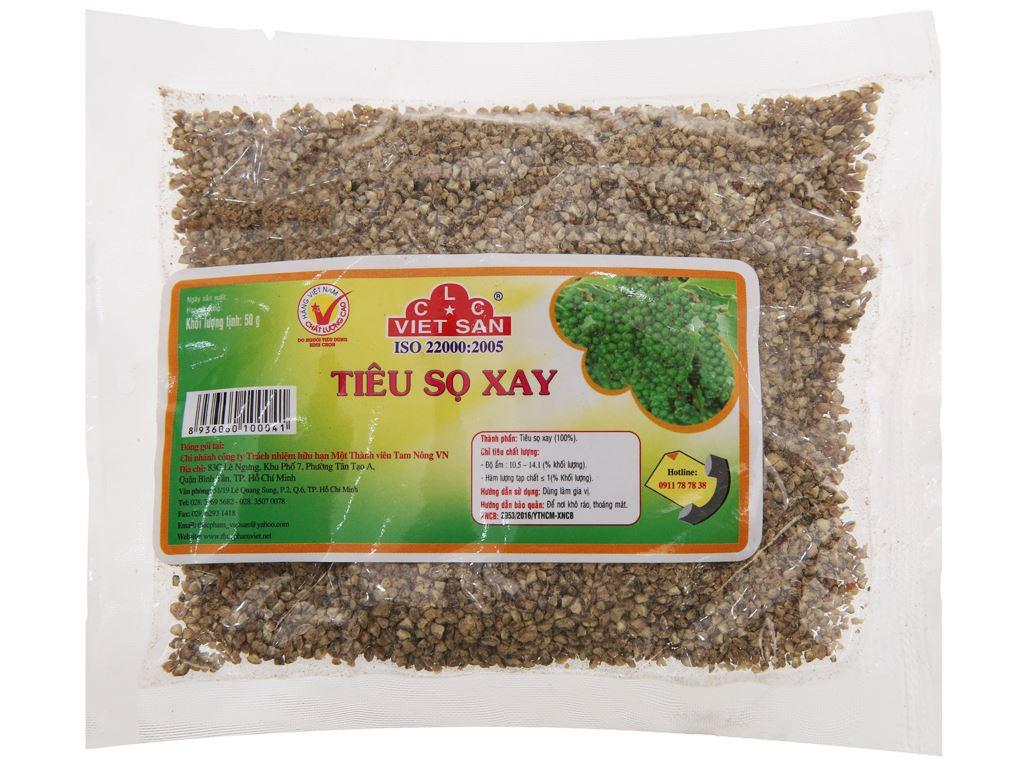 Tiêu sọ xay Việt San gói 50g 2