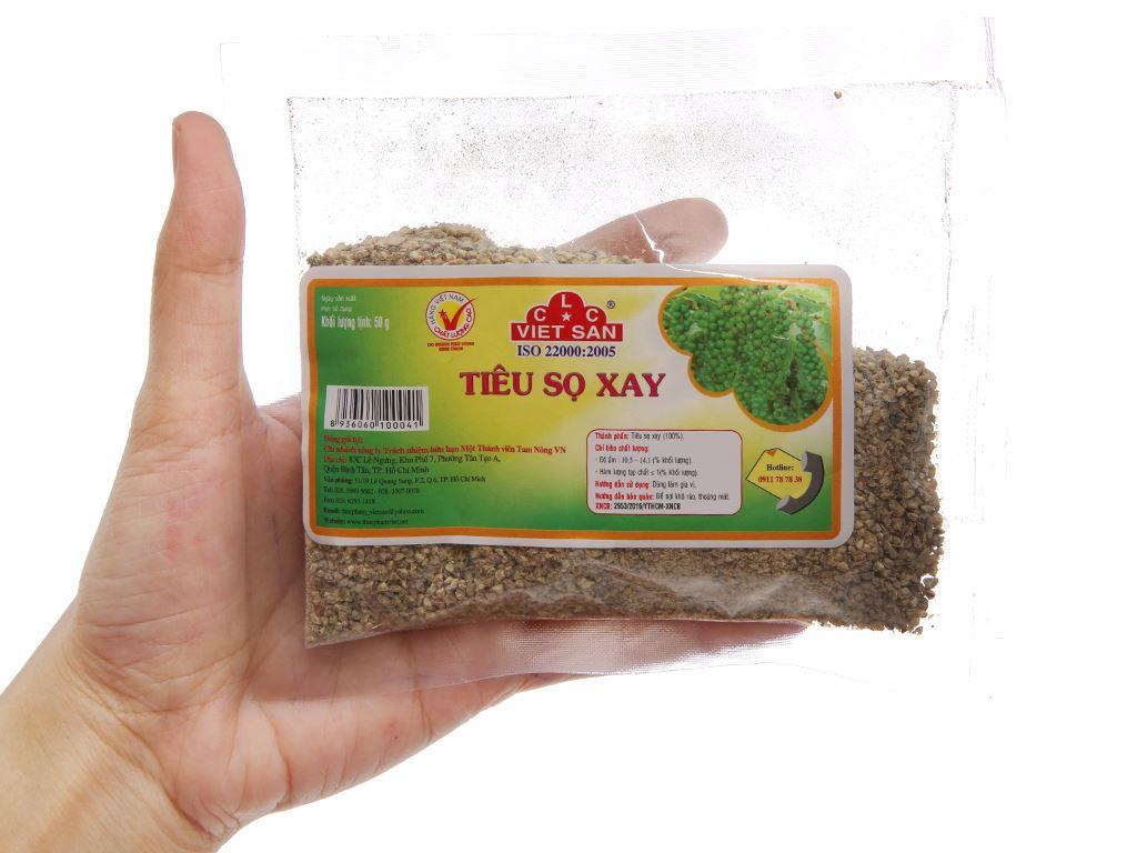 Tiêu sọ xay Việt San gói 50g 3