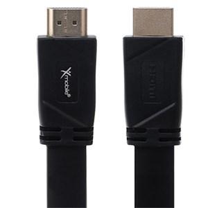 Cáp HDMI 2.0 Dẹt 2.0m Xmobile DS135-2TB Đen