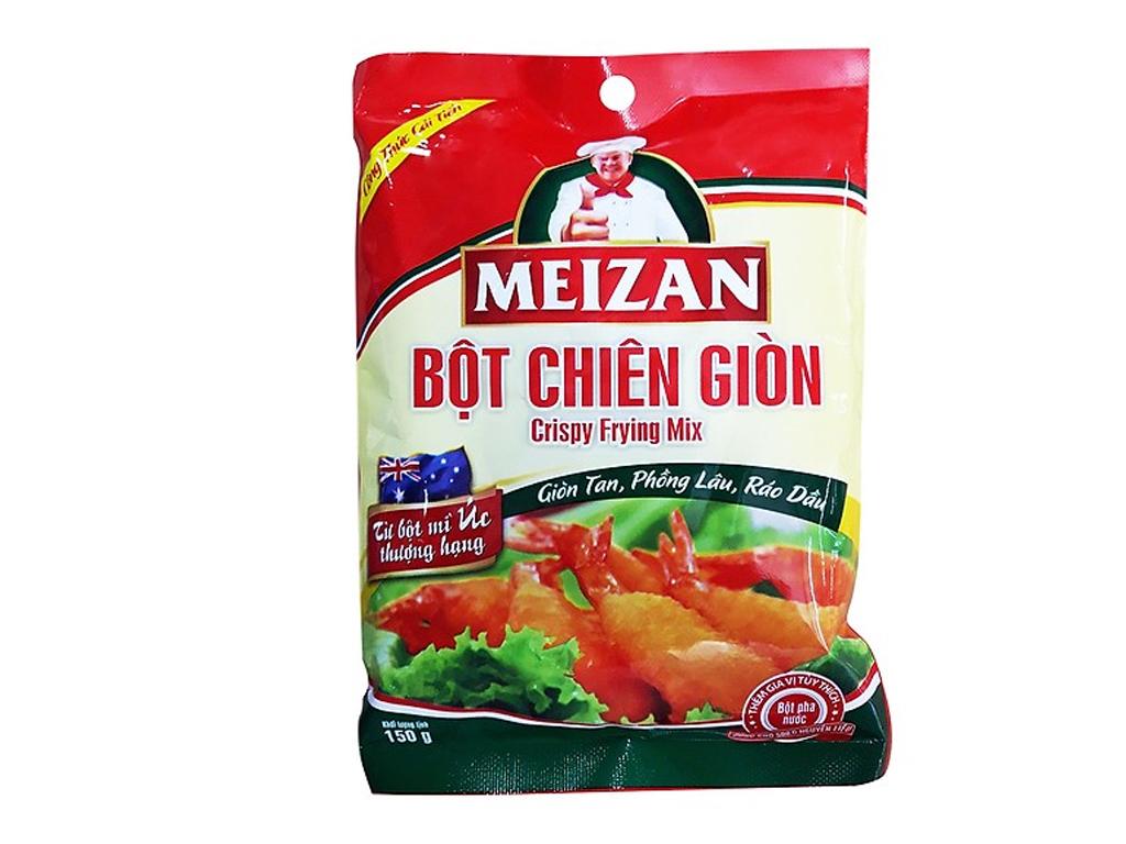 Bột chiên giòn Meizan gói 150g 1