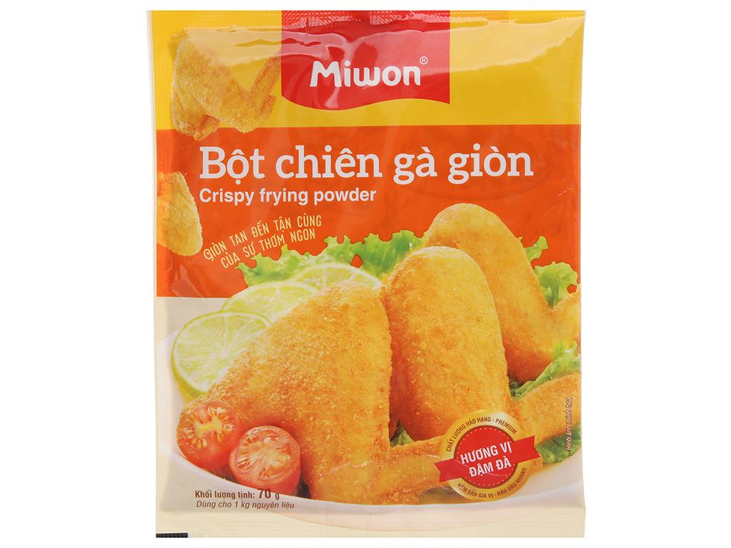 Bột chiên gà giòn Miwon gói 70g 1