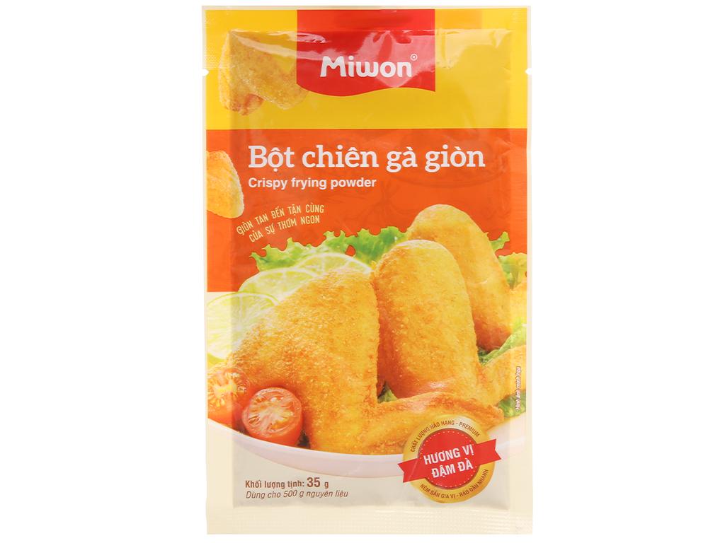 Bột chiên gà giòn Miwon gói 35g 1