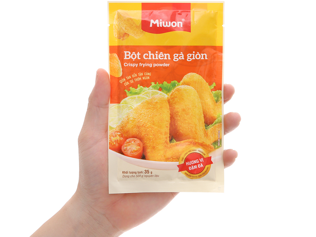 Bột chiên gà giòn Miwon gói 35g 5