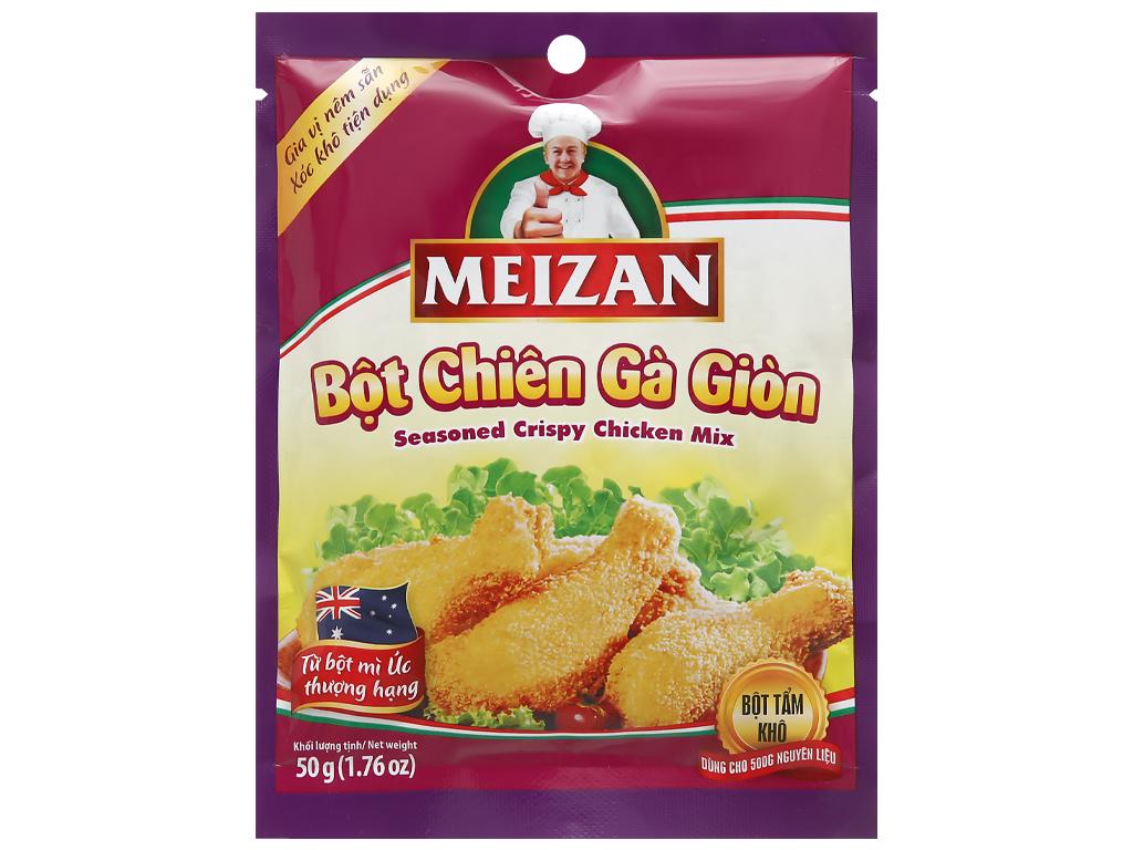 Bột chiên gà giòn Meizan gói 50g 1