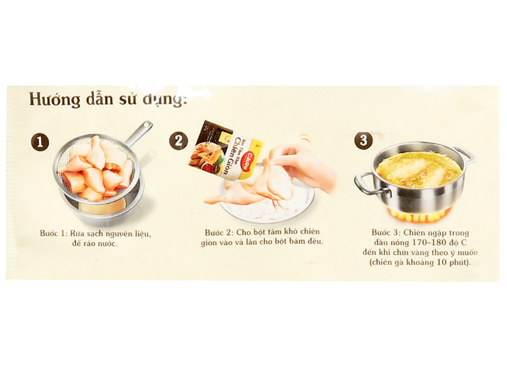 Bột tẩm khô chiên giòn CJ CheilJedang Corporation gói 42g 4
