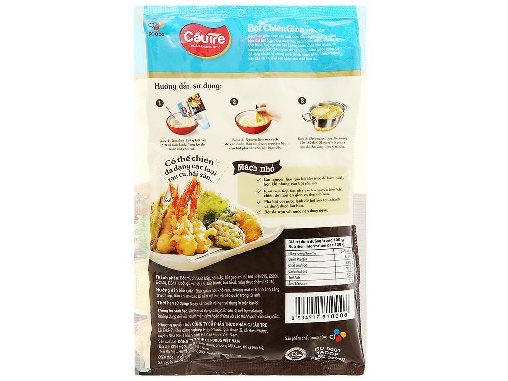 Bột chiên giòn CJ Food gói 150g 2