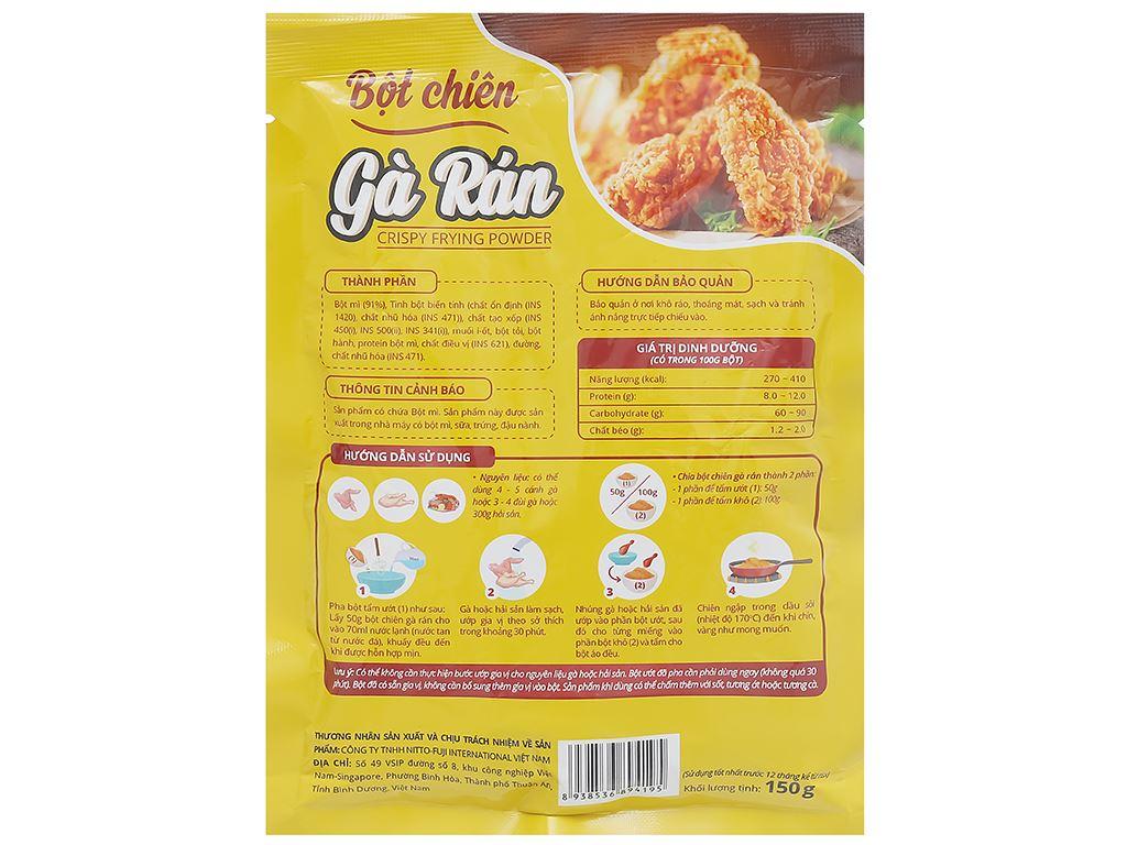 Bột chiên gà rán Dali Food gói 150g 2