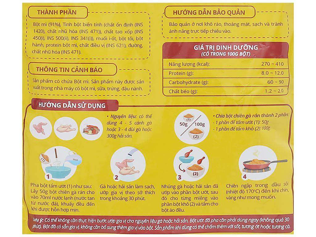 Bột chiên gà rán Dali Food gói 150g 3