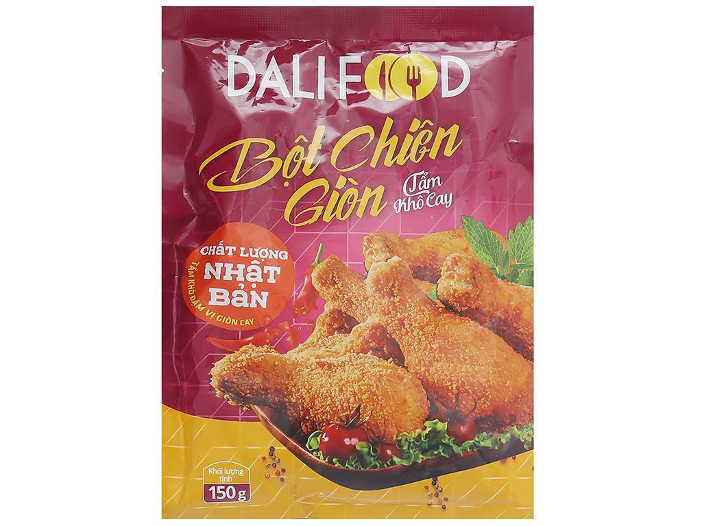 Bột tẩm khô chiên giòn vị cay Dali Food gói 150g 1
