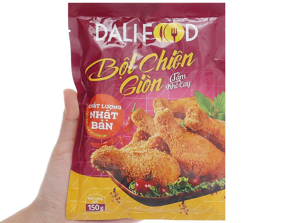 Bột tẩm khô chiên giòn vị cay Dali Food gói 150g 4